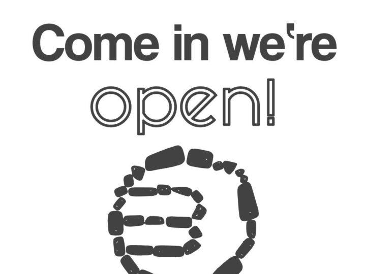 Wieder geöffnet!