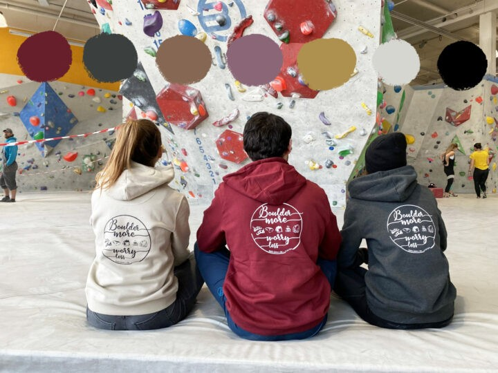 "Boulderclub Sweater ""No Worries"" – Sommer 2020 Edition"