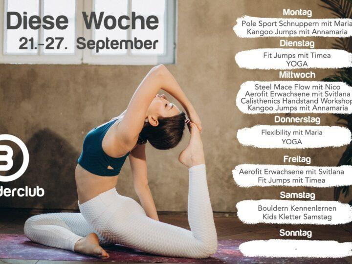 Diese Woche 21.-27. September